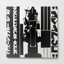 Design for advertising  print in high resolution by Reijer Stolk. Metal Print