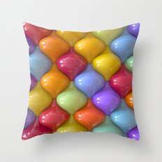 Oval Pattern Throw Pillow