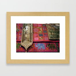 Fabrics 2! Framed Art Print