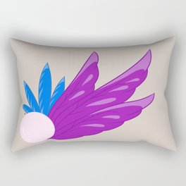Feather Leaves #5 Rectangular Pillow