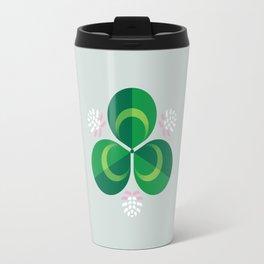 White Clover Travel Mug