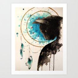 Titan Dreams Art Print