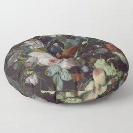 Jan van Huysum Still Life with Flowers and Fruit Floor Pillow