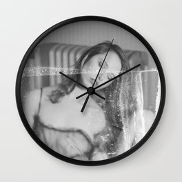 bleached Wall Clock