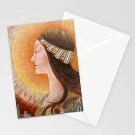 """""""Lady of the Harvest"""" Stationery Cards"""