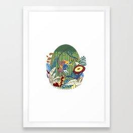 Tarzana and John Framed Art Print