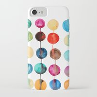 planets iPhone & iPod Cases featuring Planets by Mille Dørge