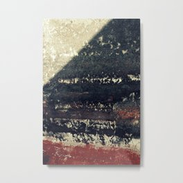 The red wall Metal Print