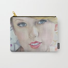 love story Colour Pencil Drawing Art   Xszone Carry-All Pouch