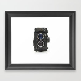 Vintage Camera (Yashica  124 G) Framed Art Print