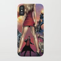 robin hood iPhone & iPod Cases featuring Dracula vs. Robin Hood vs. Jekyll & Hyde by Eco Comics