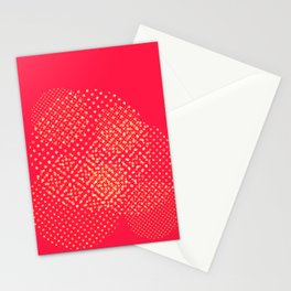 Organic geometry: passion fruit Stationery Cards