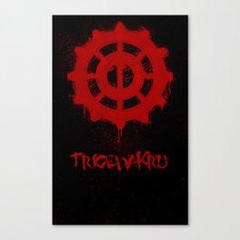 The 100 - Trigedakru Canvas Print