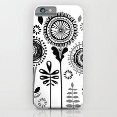 Folksy Flowerheads Slim Case iPhone 6s