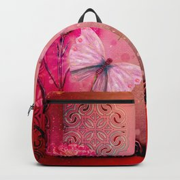 Wonderful butterflies with dragonfly Backpack
