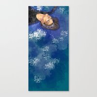 clear Canvas Prints featuring CLEAR by Dash of noir