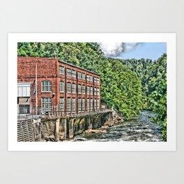 Powerhouse Art Print