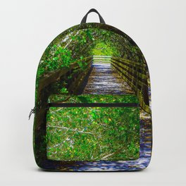 Path under the Tree Canopy Backpack