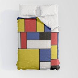 Mondrian Geometric Art Comforters