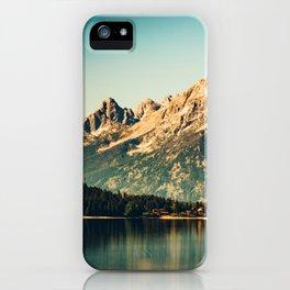 Mountain Lake Escape iPhone Case