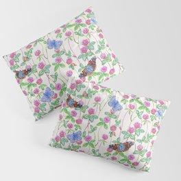 Clover Meadow Pattern - Neutral Pillow Sham