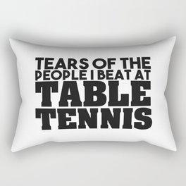 Table tennis Rectangular Pillow