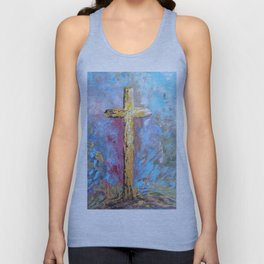 Colors of the Cross Unisex Tank Top