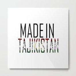 Made In Tajikistan Metal Print
