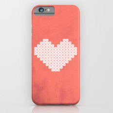 Heart X Red iPhone 6s Slim Case