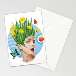 Summertime & the living is easy Stationery Cards