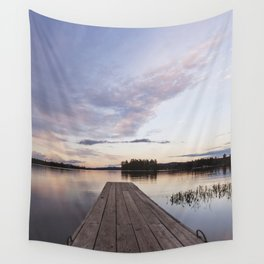 into Raquette Lake Wall Tapestry