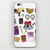 parks and recreation iPhone & iPod Skins featuring Parks & Recreation  by Shanti Draws