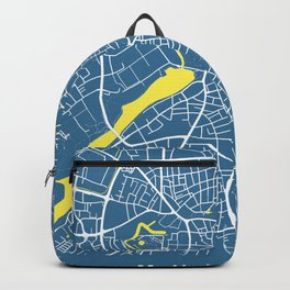 MUNSTER City Map - Germany | Blue | More Colors, Review My Collections Backpack