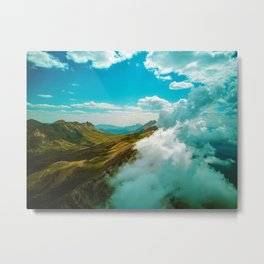 The Mountains (Color) Metal Print