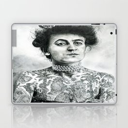 Inked Victorian Lady Laptop & iPad Skin