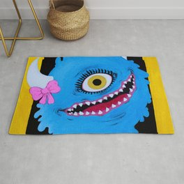 Wonderful One-eyed Delia Rug