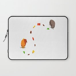 Hammy food trail Laptop Sleeve