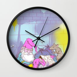 Gnomeless Wall Clock