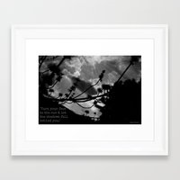 maori Framed Art Prints featuring Maori Proverb by Ever Changing Photography