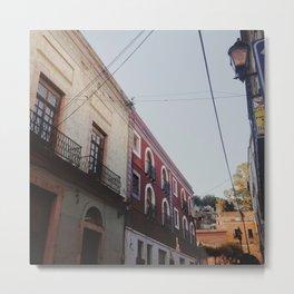 LOOKING UP IN GUANAJUATO Metal Print