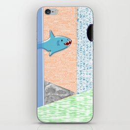 Sharkey iPhone Skin