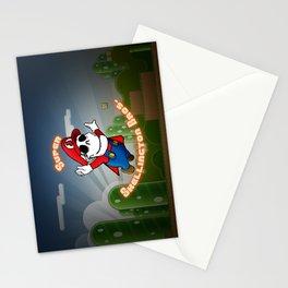 Super Skellington Bros. Stationery Cards