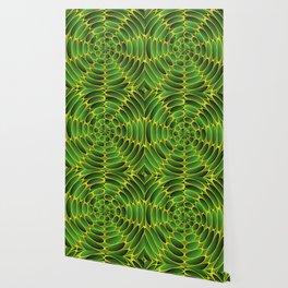 Filled green ellipses Wallpaper
