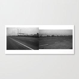 Roadway Composite 3 Canvas Print