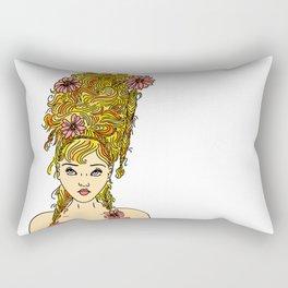 Flower Girl II Rectangular Pillow