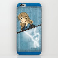 luna lovegood iPhone & iPod Skins featuring Luna Lovegood by Imaginative Ink