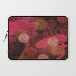 Monoprint Series Pink 1 Laptop Sleeve