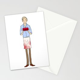 People Cake Stationery Cards