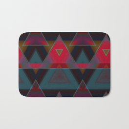 Triangle Abstract Pattern Bath Mat
