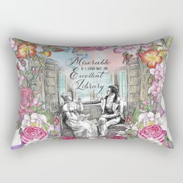 Excellent Library - Pride and Prejudice Rectangular Pillow
